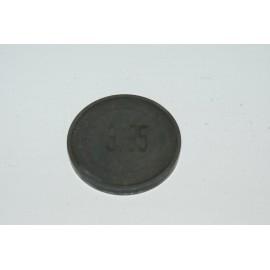Einstellplättchen Ventil 3.35 mm