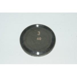 Einstellplättchen Ventil 3.40 mm