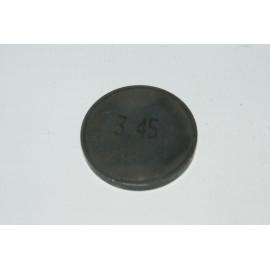 Einstellplättchen Ventil 3.45 mm