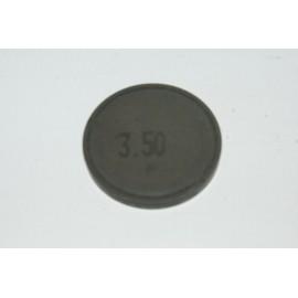 Einstellplättchen Ventil 3.50 mm