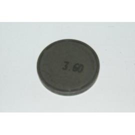 Einstellplättchen Ventil 3.60 mm