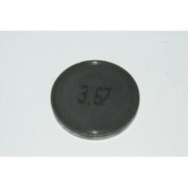 Einstellplättchen Ventil 3.67 mm
