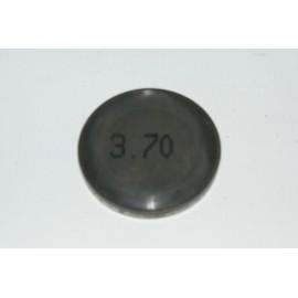 Einstellplättchen Ventil 3.70 mm