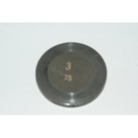 Einstellplättchen Ventil 3.75 mm