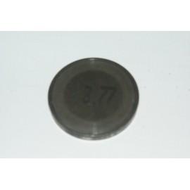 Einstellplättchen Ventil 3.77 mm