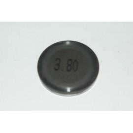 Einstellplättchen Ventil 3.80 mm