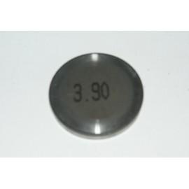 Einstellplättchen Ventil 3.90 mm