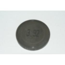 Einstellplättchen Ventil 3.92 mm