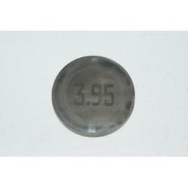 Einstellplättchen Ventil 3.95 mm