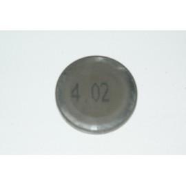 Einstellplättchen Ventil 4.02 mm