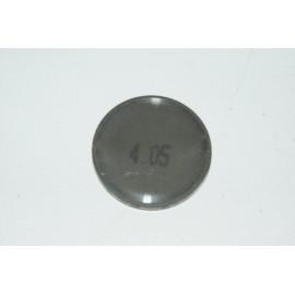 Einstellplättchen Ventil 4.05 mm