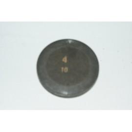 Einstellplättchen Ventil 4.10 mm
