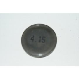 Einstellplättchen Ventil 4.15 mm