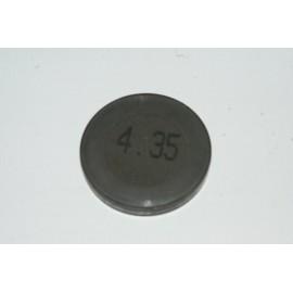 Einstellplättchen Ventil 4.35 mm