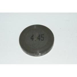 Einstellplättchen Ventil 4.45 mm