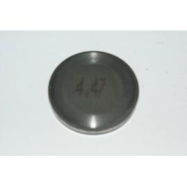Einstellplättchen Ventil 4.47 mm