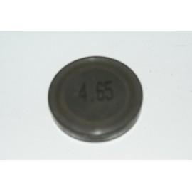 Einstellplättchen Ventil 4.65 mm