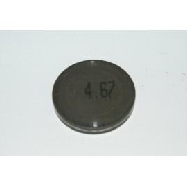 Einstellplättchen Ventil 4.67 mm