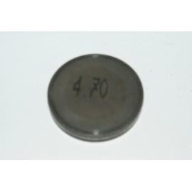 Einstellplättchen Ventil 4.70 mm