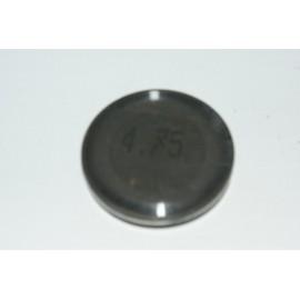Einstellplättchen Ventil 4.75 mm